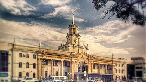 Железнодорожный вокзал Краснодар-1